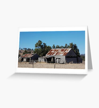 farmscapes #53, we're still standing Greeting Card