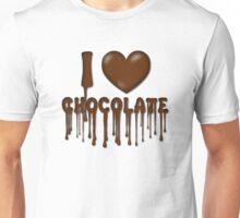I Love Chocolate T-Shirt Unisex T-Shirt