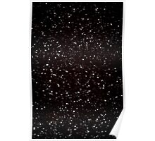 Snow Flake Pattern Poster