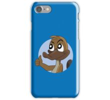 Platypus giving thumbs up cartoon iPhone Case/Skin