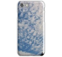 The Sun Trapped Behind the Clouds iPhone Case/Skin