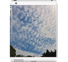 The Sun Trapped Behind the Clouds iPad Case/Skin