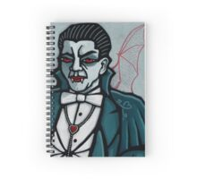 Dracula, Vampire King of Hearts Spiral Notebook