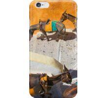 Donkey Train Yellow iPhone Case/Skin