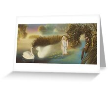 """Lord of the Reedy River"" Greeting Card"