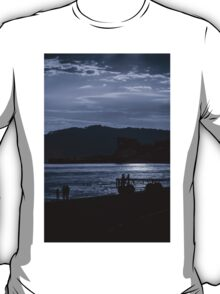 Late Stroll Along The Shore T-Shirt