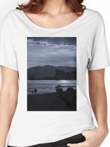 Late Stroll Along The Shore Women's Relaxed Fit T-Shirt