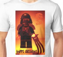 Happy Birthday Greeting Card TMNT Teenage Mutant Ninja Turtles Master Shredder Custom Minifig Unisex T-Shirt