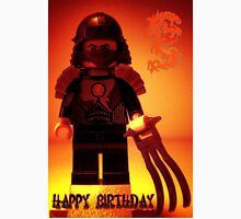Happy Birthday Greeting Card TMNT Teenage Mutant Ninja Turtles Master Shredder Custom Minifig T-Shirt