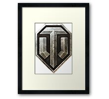 World of Tanks Logo Framed Print