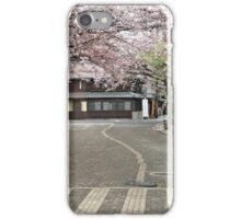 Cherry Blossom Lane iPhone Case/Skin