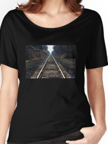 Railroad Tracks 1 Women's Relaxed Fit T-Shirt