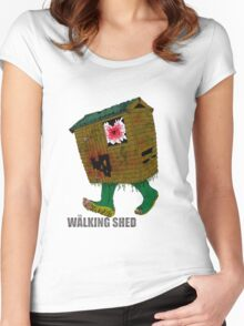 The Walking Shed! Women's Fitted Scoop T-Shirt