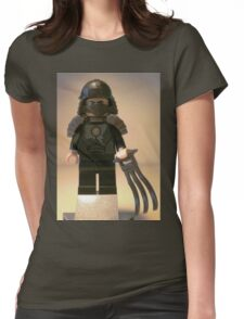 TMNT Teenage Mutant Ninja Turtles, Master Shredder Custom Minifig Womens Fitted T-Shirt