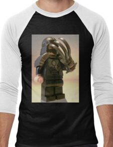TMNT Teenage Mutant Ninja Turtles Master Shredder Custom Minifig Men's Baseball ¾ T-Shirt