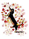 Dachshund Love by Diana-Lee Saville