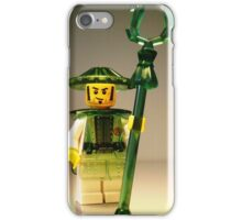Ching Dynasty Chinese Warrior Custom Minifigure iPhone Case/Skin
