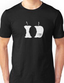 Stay Hungry Stay Foolish (dark background) Unisex T-Shirt