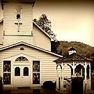 Rural Wisconsin Church  by Nicole DeFord