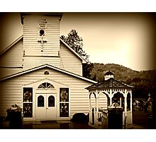 Rural Wisconsin Church  Photographic Print
