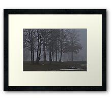 Giants in the Mist Framed Print