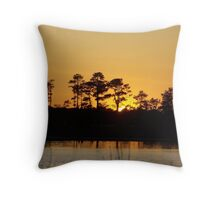 Sunset in Maryland Throw Pillow