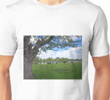 A true country scene Unisex T-Shirt