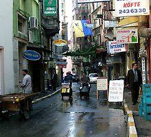 Taksim Street Life by Kerryn Benbow
