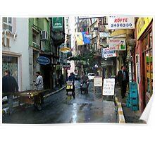 Taksim Street Life Poster