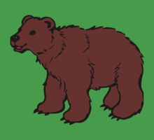 Grizzly Bear by tshirtdesign