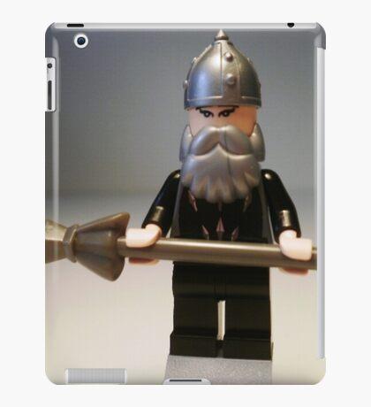 Mongolian Chinese Warrior Chief Custom Minifig iPad Case/Skin