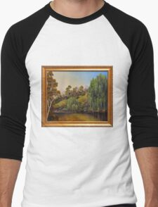 WEEPING WILLOW Men's Baseball ¾ T-Shirt
