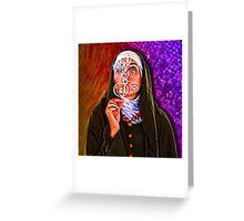 The Nun's Bubbles of Antioch Greeting Card