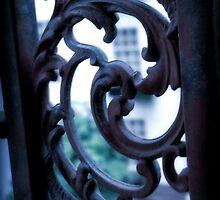 Window Terrace 2 by Kristine McKay Kinder