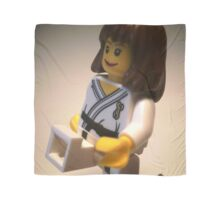 Judo Karate Martial Arts Girl Custom Minifigure Scarf