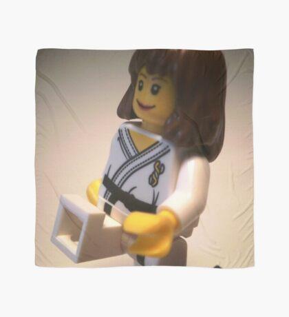 Judo Karate Martial Arts Girl Custom Minifigure Scarf