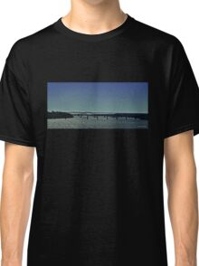 Bridge Over Sparkling Water (Panorama) Classic T-Shirt