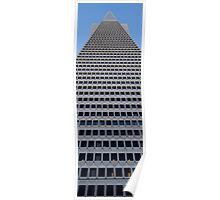 Transamerica Pyramid, from Below Poster