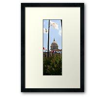 Oklahoma Capital Grounds Framed Print