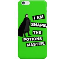 The Potions Master iPhone Case/Skin