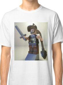 Gladiator 'Titus the Gladiator' Custom Minifigure Classic T-Shirt