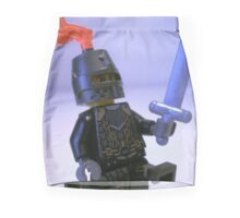 Dragon Knight with Chain Mail, Chain and Helmet Mini Skirt