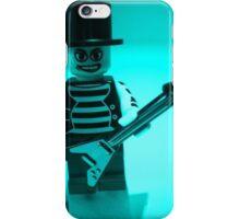 Emo, Goth, Punk, Band Guitarist Custom Minifigure iPhone Case/Skin