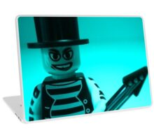 Emo, Goth, Punk, Band Guitarist Custom Minifigure Laptop Skin