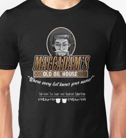 "Transformers - ""Maccadam's Old Oil House"" Unisex T-Shirt"