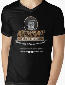"Transformers - ""Maccadam's Old Oil House"" Mens V-Neck T-Shirt"