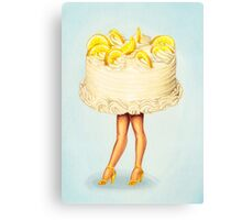Cake Walk III Canvas Print