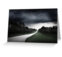 Solitary Lane Greeting Card