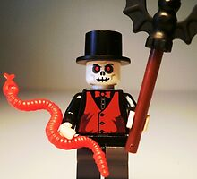 Voodoo Priest / Witch Doctor Zombie Custom Minifigure by Customize My Minifig