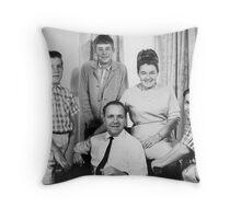 Heraud Family Portrait Throw Pillow